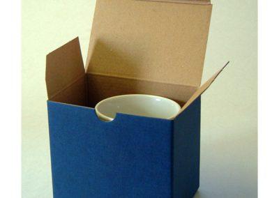 Blue card box
