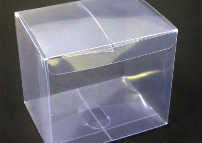 Clear box closed